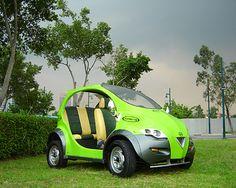 Earth friendly car  full electric car