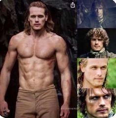 James Fraser Outlander, Outlander Tv Series, Sam Heughan Outlander, Sam Heughan Actor, Vampire Diaries, Gabaldon Outlander, Prince Charmant, Jaime Fraser, Fangirl