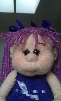 Bella doll. Knitted Dolls, Beanie, Teddy Bear, Toys, Animals, Activity Toys, Animales, Animaux, Clearance Toys