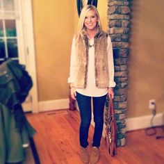 I am now in desperate need of a fur vest!