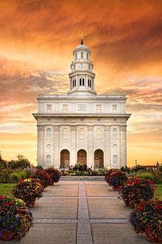 Nauvoo Temple - Sunrise in Temple   LDSBookstore.com (#LDP-RB11308)