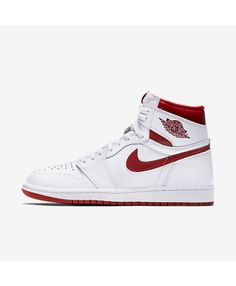promo code 427fc 501e7 Air Jordan 1 Retro High OG White Varsity Red 555088-103