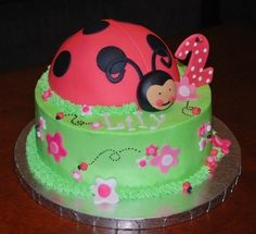 coccinelle lady bird cake