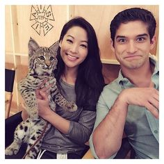 Teen Wolf Season 5 Behind the Scenes ❤ liked on Polyvore featuring home, home decor and holiday decorations