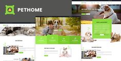 Pet Home - Pet Care PSD Templates . Pethome is a clean, suitable for petcare, we hope you enjoy our
