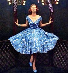 Image result for dior 1950s dress