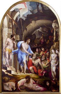 Discesa di Cristo al Limbo (1535 circa; Siena, Pinacoteca Nazionale)