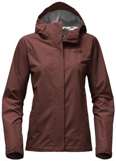 The North Face Women's Venture 2 Rain Jacket Sequoia Red Heather Xxxl