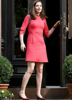 Upcoming role: In The Intern, Anne plays Jules Ostin, the founder of a fashion based e-commerce company who hires a much older male intern