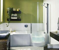Douche én bad in een kleine badkamer? - Wonen