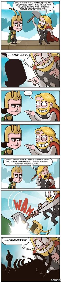 Funny - Thor and Loki - www.funny-pictures-blog.com