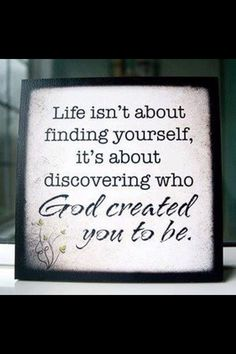 It's so exciting to try to solve the puzzle of who you were created to be.