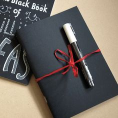 Setof 3 A5 sketchbooks with chalkboard covers to customise...