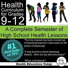 TEACH HEALTH? Get the #1 Best-Selling Health Curriculum on the TeachersPayTeachers Website!!!