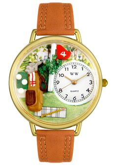Price:$44.99 #watches Whimsical G0810002, Whimsical watches are made by a team of Artists and Graphic Designers using hand-crafted Miniatures. All Miniatures are specially placed under the domed crystal of the watch turning this fashionable watch into a wearable work of art.