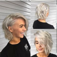 Beautiful Bob by @mathewchampionhair.   Do you love the cut or the color more??. She is rocking that Icy Blonde.  ⠀⠀  ⠀⠀⠀⠀⠀#DaHair 🍬🍭🍬🍭  ⠀⠀⠀⠀⠀⠀--@imallaboutdahair