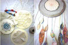 More DIY dreamcatchers...