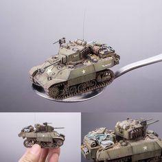 Stuart M3A3 Light Tank Built 1/72 S-Model.