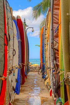 Hawaii Surfing #treasuredtravel