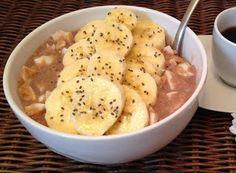 Denny Chef Blog: Porridge di avena, albumi e banana
