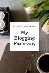 My Blogging Fails of 2017