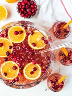 An easy, refreshing recipe for Sparkling Christmas Punch for a crowd! With champagne, rum, cranberry, and cider. Not too sweet and perfect for parties! Christmas Cocktails, Holiday Drinks, Holiday Recipes, Party Drinks, Christmas Recipes, Christmas Eve, Winter Drinks, Christmas Foods, Christmas Appetizers