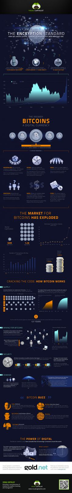 #Bitcoin: The Encryption Standard Infographic