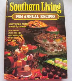$3.00 - Southern Living Annual 1984 HC (81216-750) vintage cookbooks