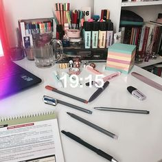 Poornima Indrajith in her own beautiful creation! Study Desk, Study Space, School Motivation, Study Motivation, Law School, Back To School, Studyblr Notes, Pretty Notes, Study Areas