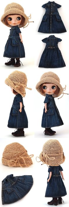 ** Blythe outfit ** Lucalily 339**の画像:mahounote.