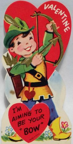 50s Robin Hood Valentine