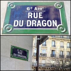 Love the Rue du Dragon. I will live here one day!