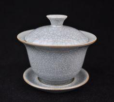 Crackled Ceramic Gaiwan