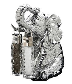 Arthur Court Elephant Hanging Salt & Pepper Set | Dillards.com