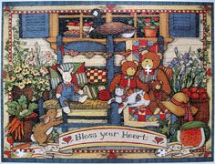 Homespun Treasures (Susan Winget) by Leonisha, via Flickr