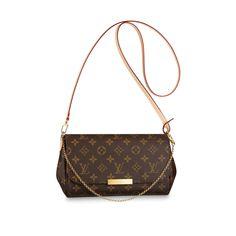 Monogram HANDBAGS Cross Body Bags Favorite MM   Louis Vuitton ®