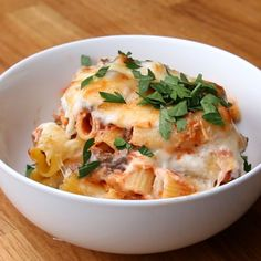 Bake & Save Beef and Cheese Rigatoni Recipe by Tasty