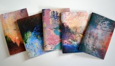 Handmade artist zines made up of a selection of landscape images, a series of digital mixed-media collages. 24 pages / 24 images - Random image