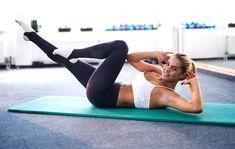 30 päivän vatsalihashaaste: vatsa timmiksi kolmella liikkeellä | Anna.fi Abs, Running, Workout, Health, Fashion, Workout Abs, Fitness Exercises, Exercise Workouts, Daily Workouts