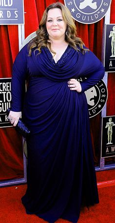 Melissa McCarthy ~ Beauty comes in all shapes and sizes and I celebrate Melissa's curves, beauty, and irreverent sense of humor! I love her!