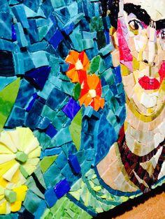 Flowers for Frida Mosaic Art Frida Kahlo by theartofmosaic on Etsy