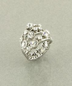 Crystal Elegance Stretch Ring  $7.99
