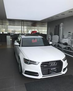 We love the new indoor delivery bay at the Audi Columbus Showroom!