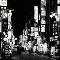 black-and-white:    Tokyo byMartin Stavars
