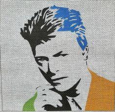 Needlepoint For Fun Cross Stitch Kits, Cross Stitch Designs, Cross Stitch Patterns, Needlepoint Patterns, Needlepoint Canvases, Cross Stitching, Cross Stitch Embroidery, Perler Beads, David Bowie Art