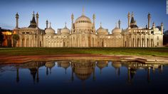 The southern seaside town of Brighton has its own eccentric answer to the Taj Mahal. Built for King George IV, the 193-year-old <a…
