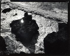 Minor White - Sun in Rock, San Mateo County, California, 1947