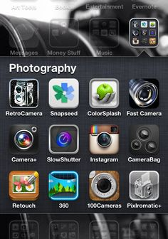 My Fav Photography Apps