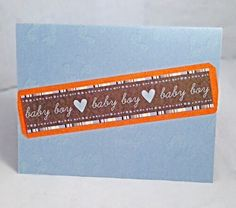 It's a Boy 10 by JBRCards on Etsy So cute for a baby shower!
