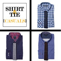 Style Tips | How to Match Your Shirt & Tie: Casuals | GOTSTYLE.CA